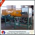 eddy current equipment for separates aluminum parts (Al-cans)