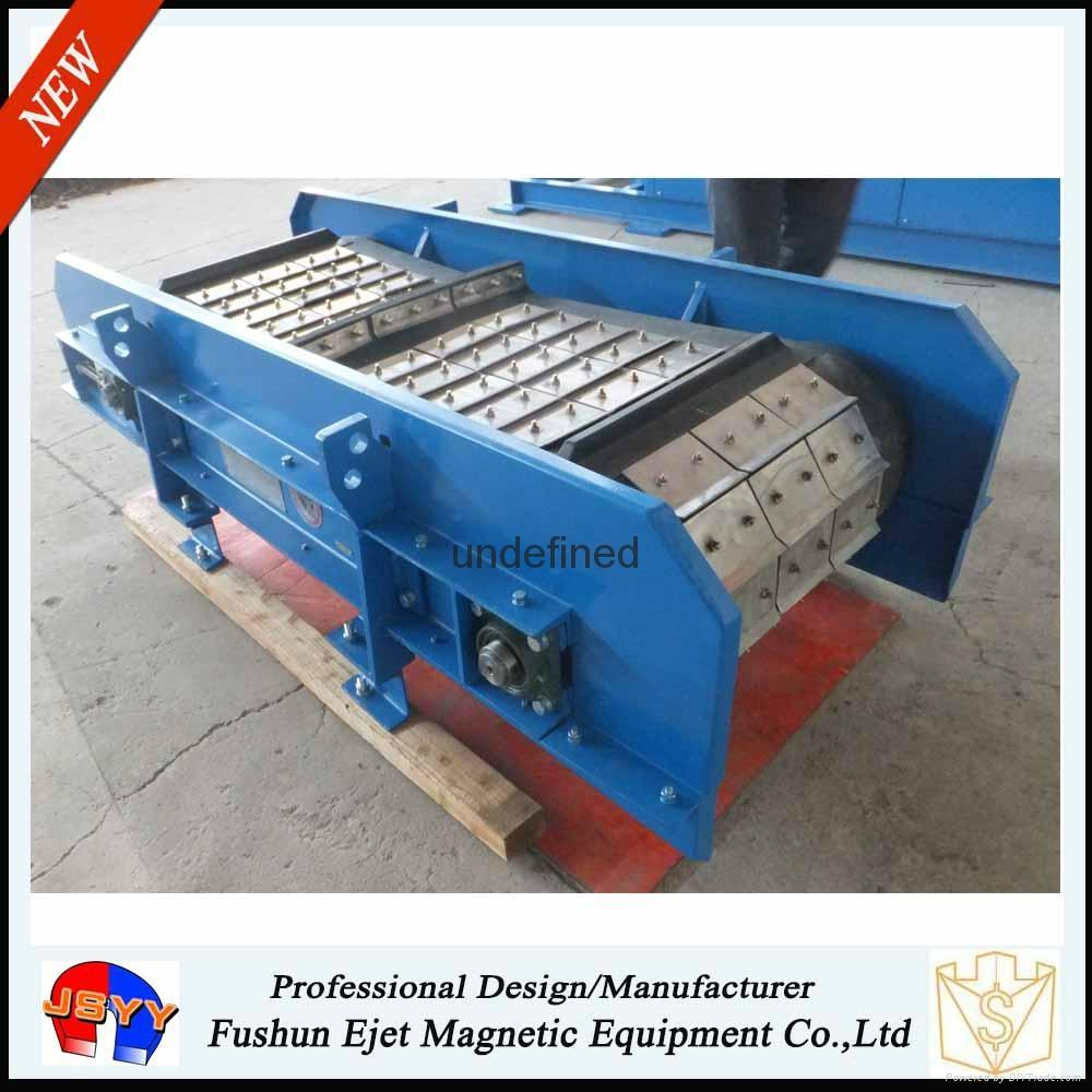 高耐磨悬挂带式永磁除铁器、磁选机 2