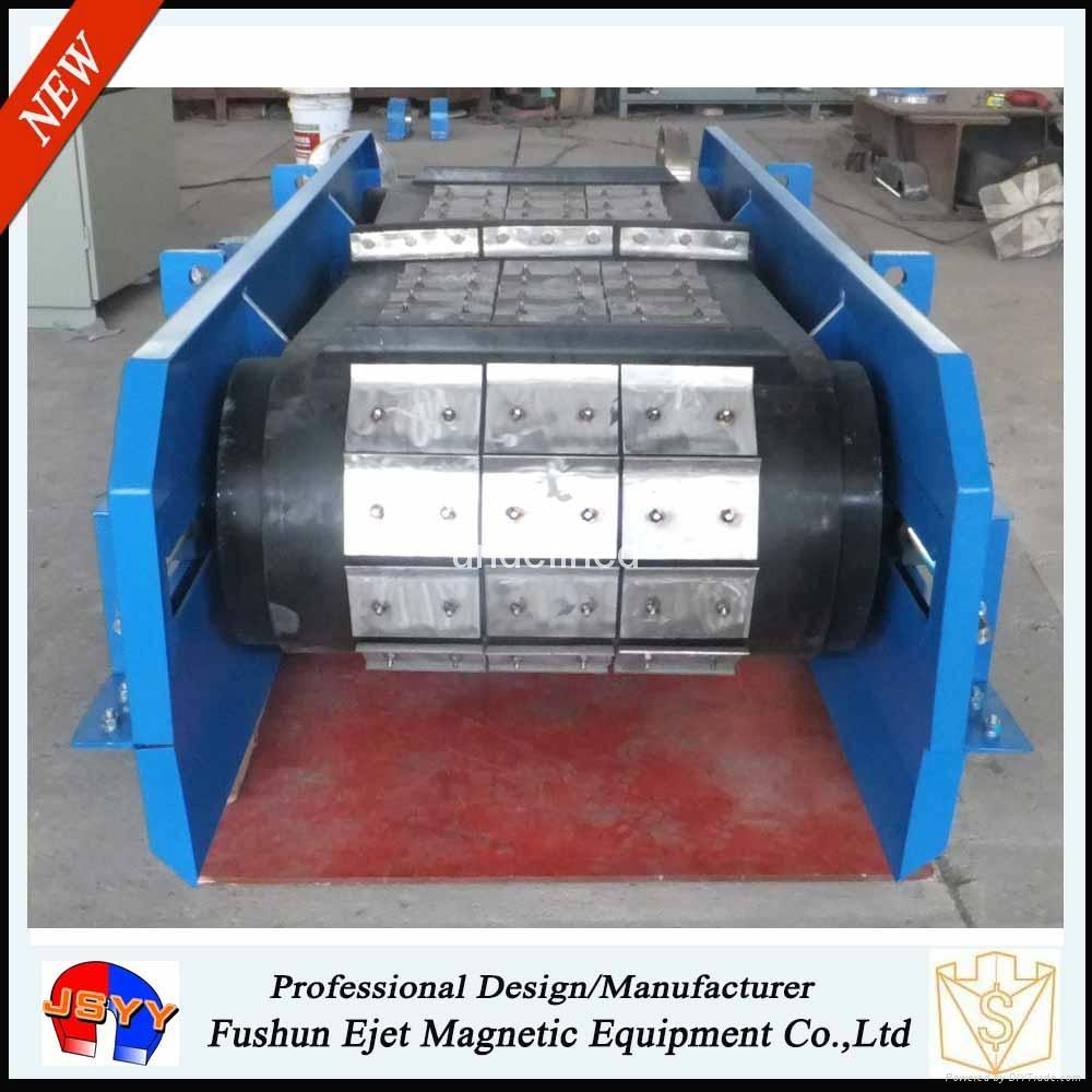 高耐磨悬挂带式永磁除铁器、磁选机 5