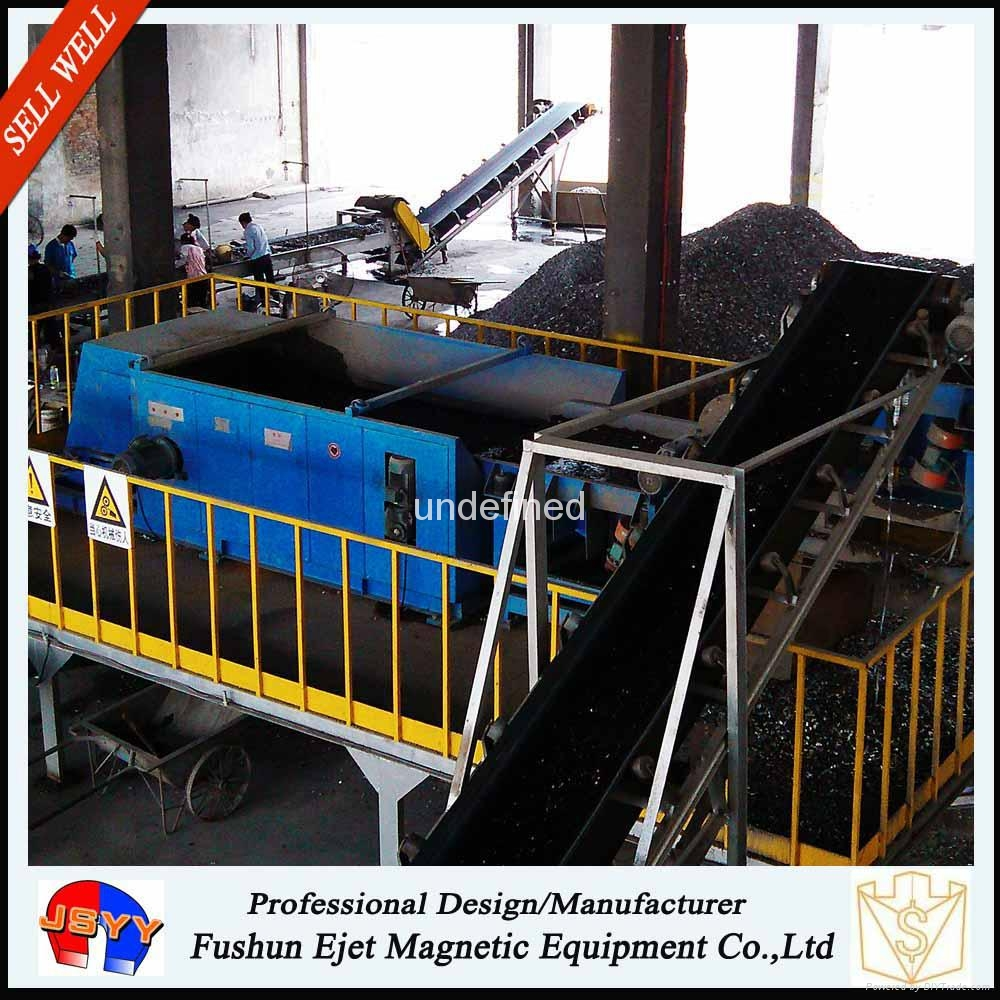 涡电流废铝合金/汽车切片/破碎铝回收系统 1