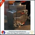 半自动封闭式管道溜槽连接防阻塞颗粒粉末物料除铁器 2