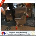 半自動封閉式管道溜槽連接防阻塞顆粒粉末物料除鐵器 5