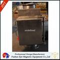 半自動封閉式管道溜槽連接防阻塞顆粒粉末物料除鐵器 6