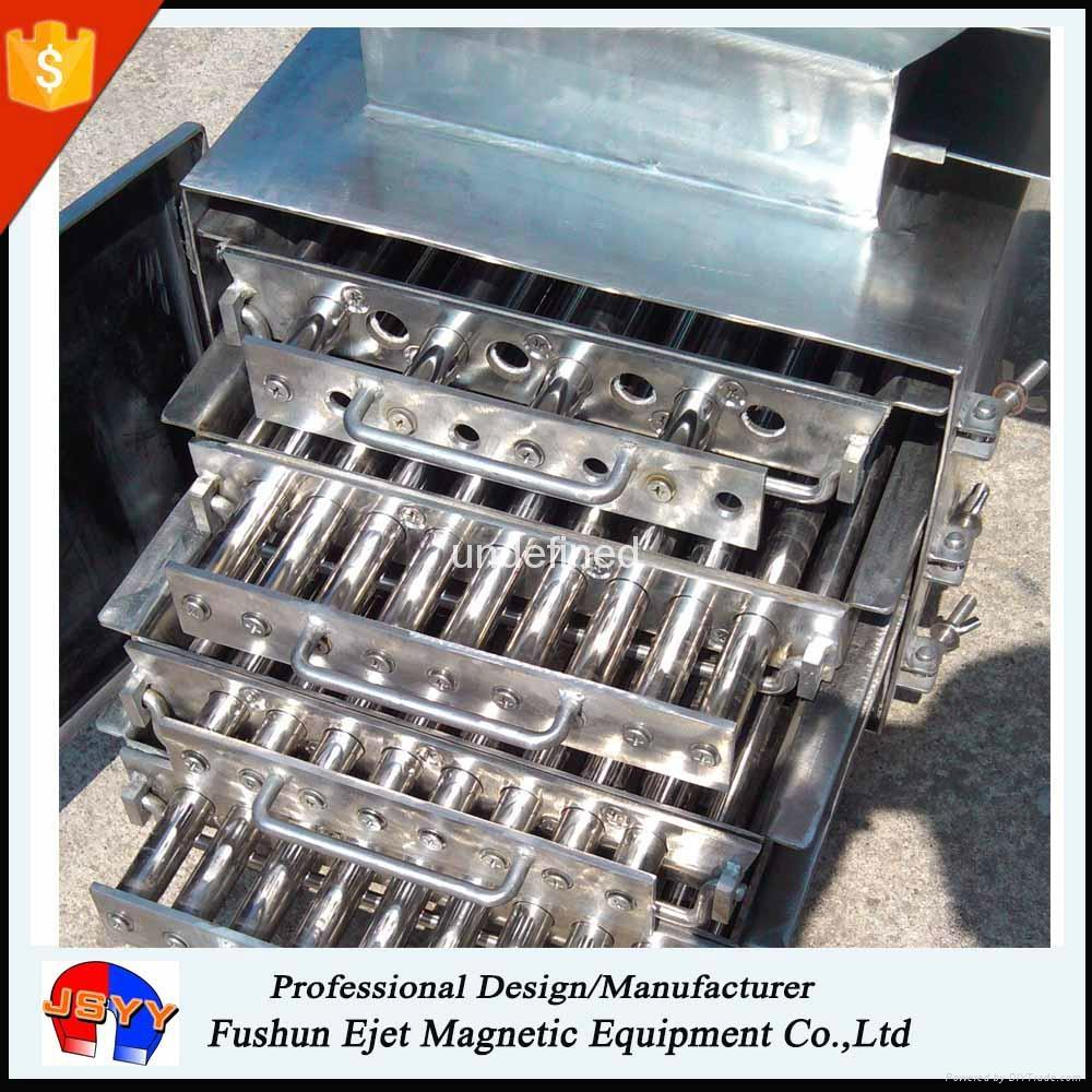 箱式磁格栅、磁力架 重力下落颗粒粉末 溜槽管道除铁器 1