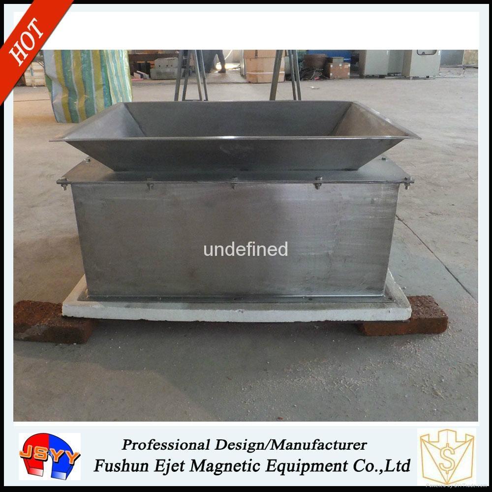 封闭箱式、溜槽多磁棒除铁器 固体颗粒和粉末物料去铁提纯机  4