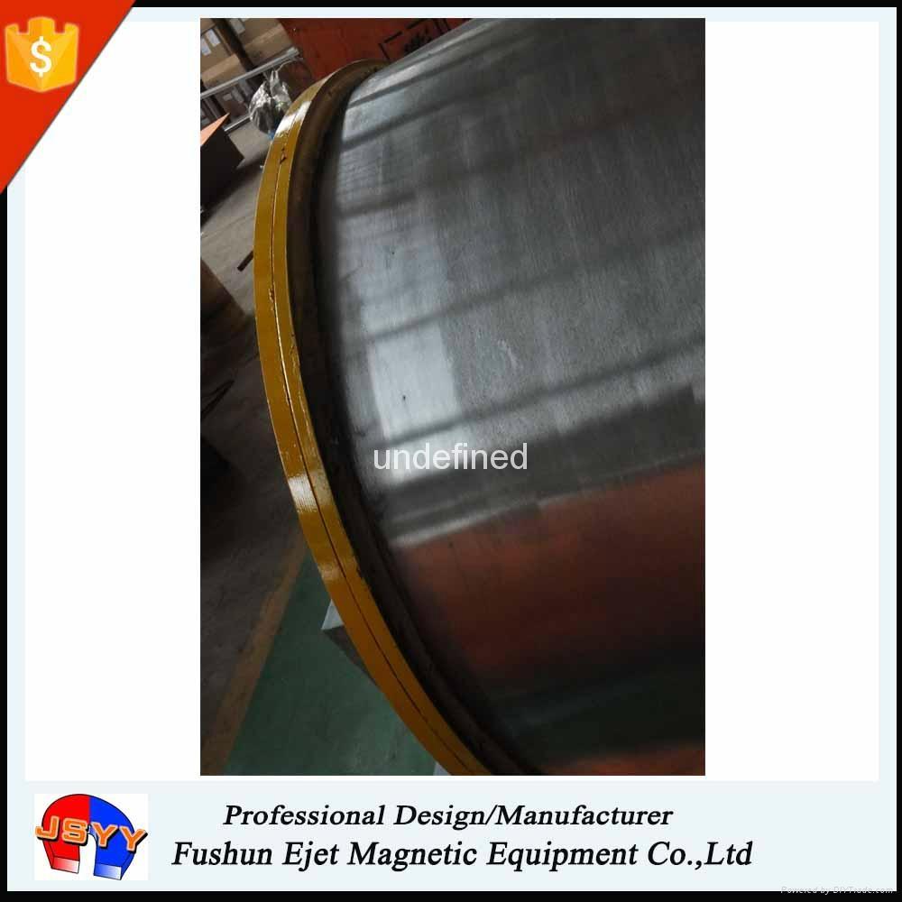 重型、高容量鐵回收 大型除鐵滾筒 磁選驅動滾筒  4