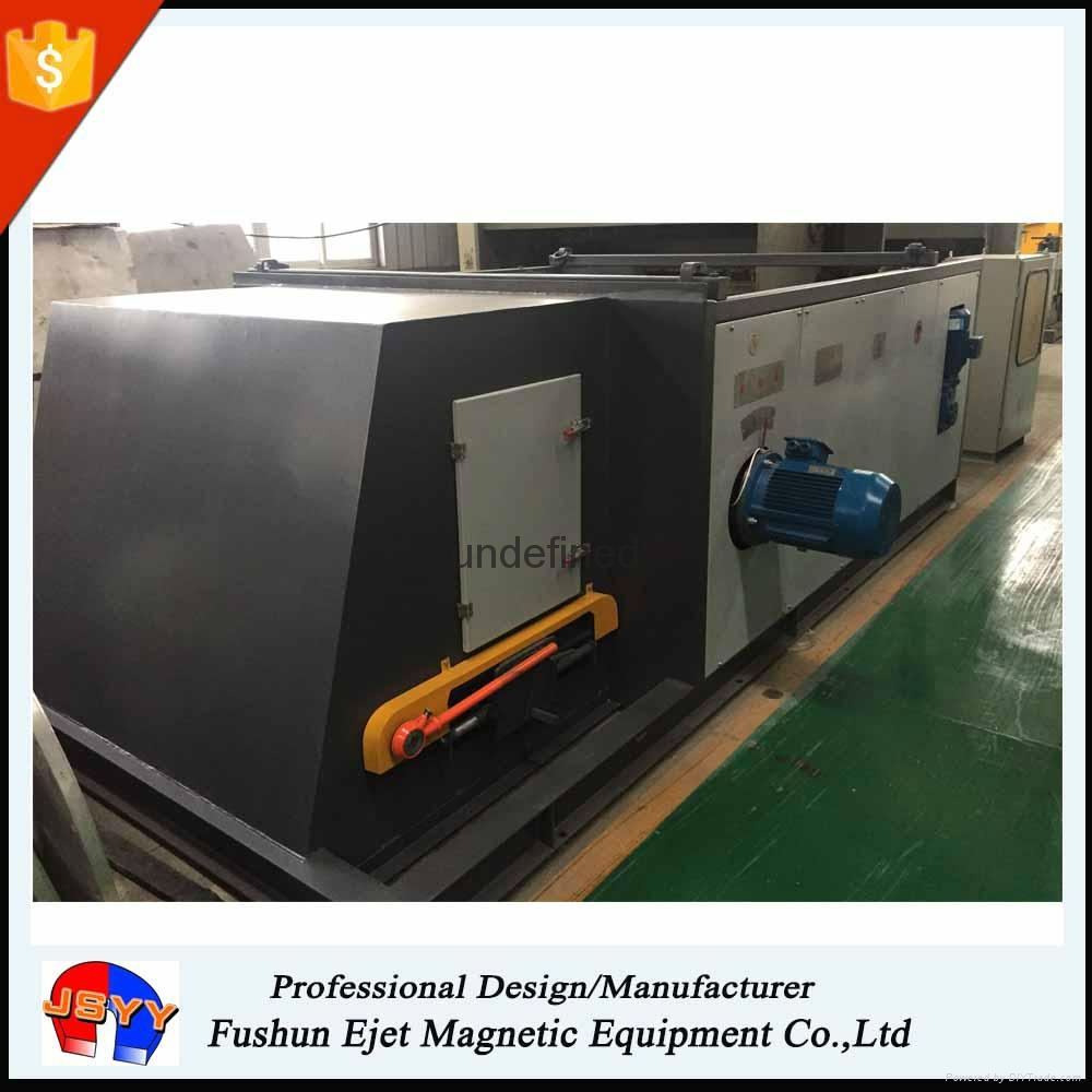 Aluminum alloy and copper scraps recovery machine for incinerated packaging wast