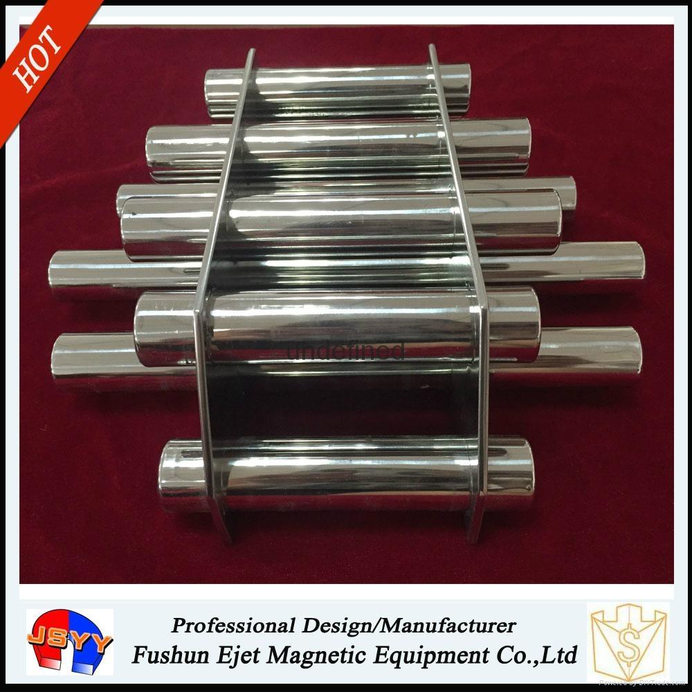 NdFeB Nine Bars Hopper Magnet Filter for Injection Moulding Machine 4