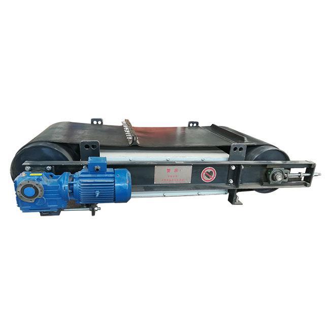 上吸式除鐵器磁選機懸挂于輸送設備上方 1