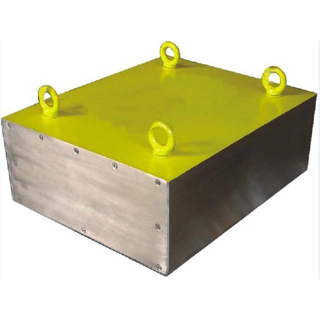 上吸式除铁器磁选机悬挂于输送设备上方 2