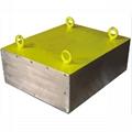 上吸式除铁器磁选机悬挂于输送设备上方