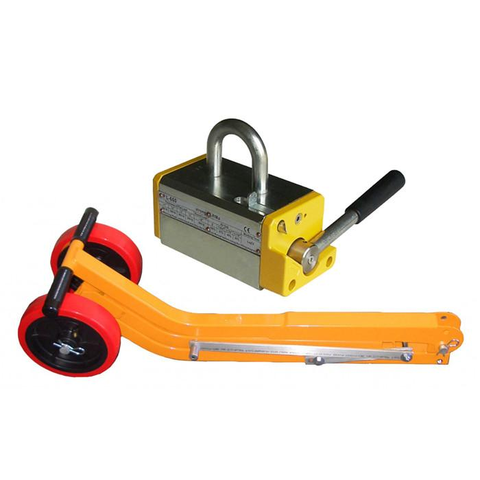 Manhole Cover Lifting Arms Magnetic Lid Lifter Collapsible for Easy Storage and