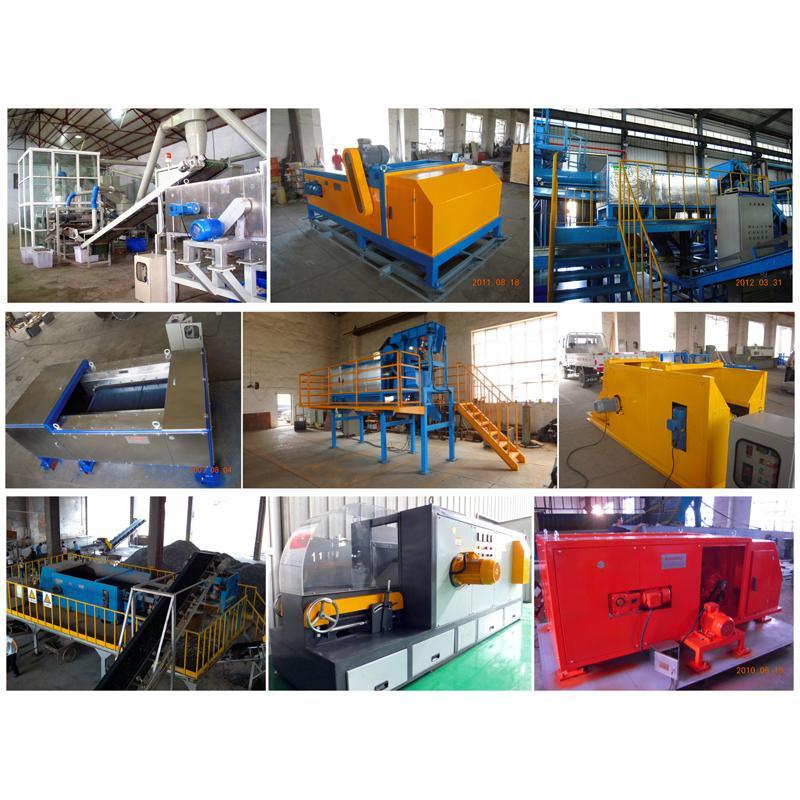 Plastic Aluminium Eddy Current Separator Aluminium Metal Sorting Machinery Zorba 5