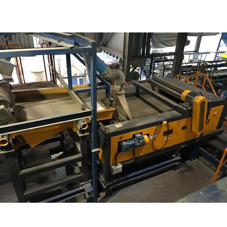Plastic Aluminium Eddy Current Separator Aluminium Metal Sorting Machinery Zorba 7