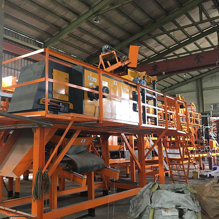Plastic Aluminium Eddy Current Separator Aluminium Metal Sorting Machinery Zorba 9