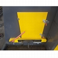 Eddy current aluminum hopping machine for electronics board scrap Copper separat 3