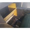 Eddy current aluminum hopping machine for electronics board scrap Copper separat 4