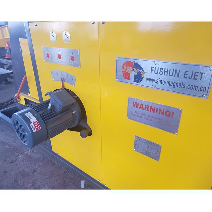Eddy current aluminum hopping machine for electronics board scrap Copper separat 5