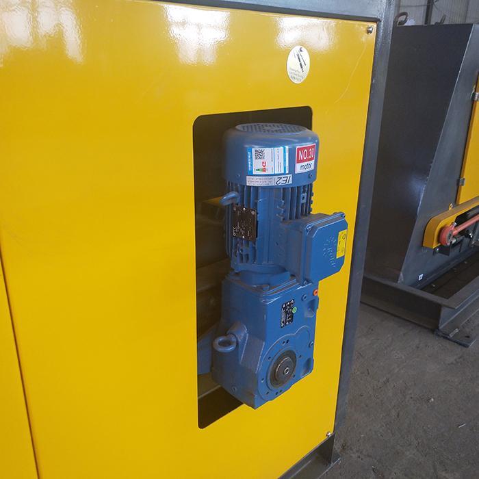 Eddy current aluminum hopping machine for electronics board scrap Copper separat 6