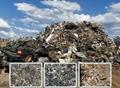 Eddy current aluminum hopping machine for electronics board scrap Copper separat 8