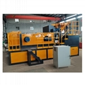 Nonferrous Metal Eddy Current Separator Municipal Solid Waste Machine , Removing