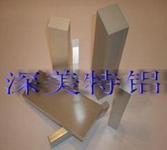 供應深美特鋁7075(LC9)工業型材鋁棒鋁管