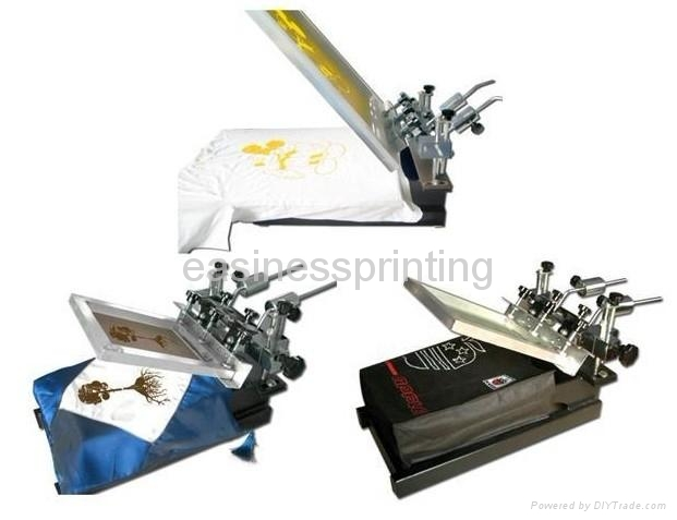 single t shirt printing machine