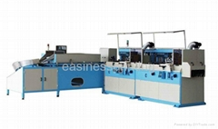 YZ-12AL-N multi-color full auto screen printing line for container