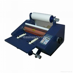 HF-G silicon oil proof hot roll laminating machine