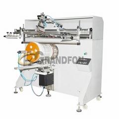 hot sale large bucket pneumatic silk screen printing machine