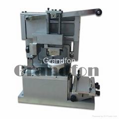 closed ink cup manual pad printing machine