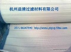 Polyester latex thread conveyor belt