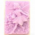 花仙子香皂模具 2