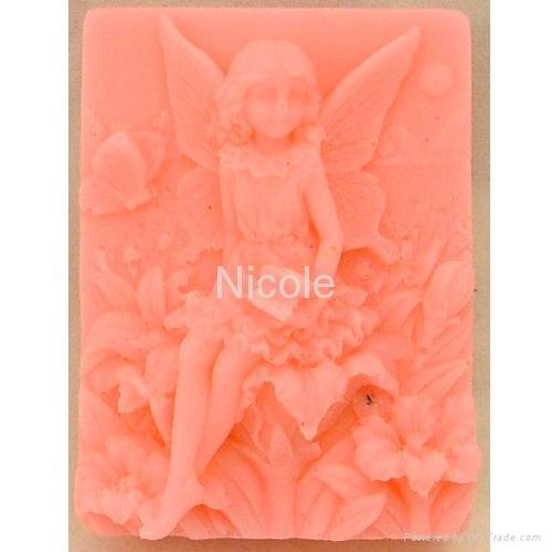 花仙子香皂模具 3