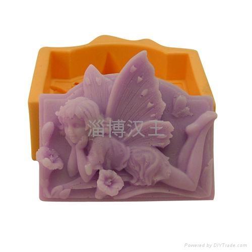 花仙子香皂模具 4