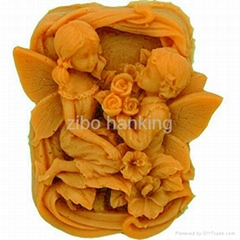 valentine's day love silicone rubber soap mold soap molds