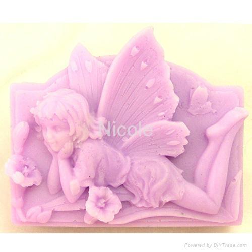 情人节甜礼物硅胶香皂模具 2