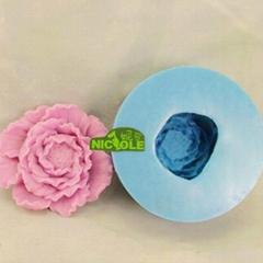 3D flower soap mold