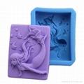 新款美人鱼香皂模具 4
