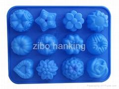 硅胶果冻模具糖果模具