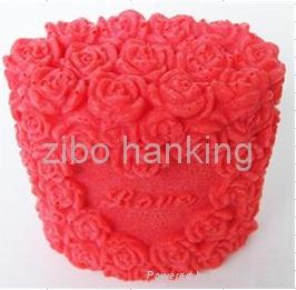 情人节礼物硅胶皂模硅胶模具 4