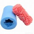 情人节礼物硅胶皂模硅胶模具 5