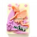 情人节甜礼物硅胶香皂模具 5