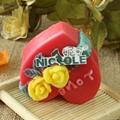 情人节礼物硅胶皂模硅胶模具 2