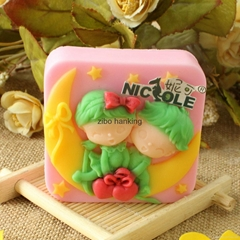 valentine's day soap molds silicone mold