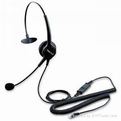 北恩防噪音耳机呼叫中心专用耳机