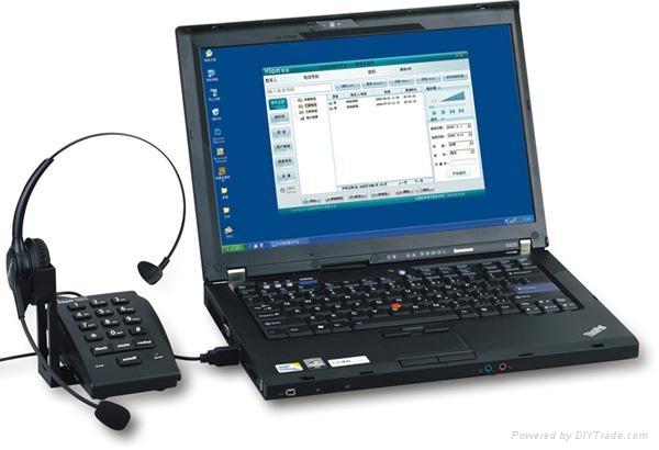 北恩hion客服電腦彈屏錄音電話耳機 1