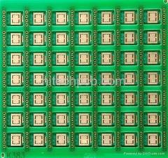 Plating hard gold board  China pcb manufacturer