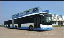 18m CNG city bus
