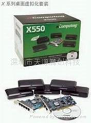 NComputing X550网络共享器教育培训云终端